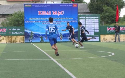 Khai mạc Giải bóng đá tranh cúp MIKADO mở rộng