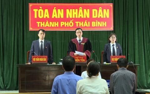 Thành phố Thái Bình xét xử lưu động 2 vụ án hình sự sơ thẩm