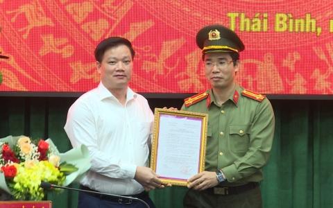 Chỉ định Bí thư Đảng ủy Công an tỉnh Thái Bình