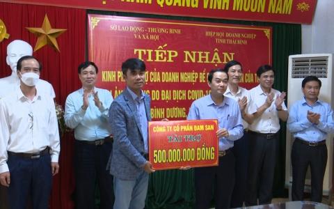 Doanh nghiệp Thái Bình tài trợ gần 1 tỷ đồng để đón công dân của tỉnh trở về