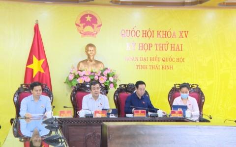 Quốc hội nghe và thảo luận về dự án Luật Cảnh sát cơ động và Luật Sở hữu trí tuệ