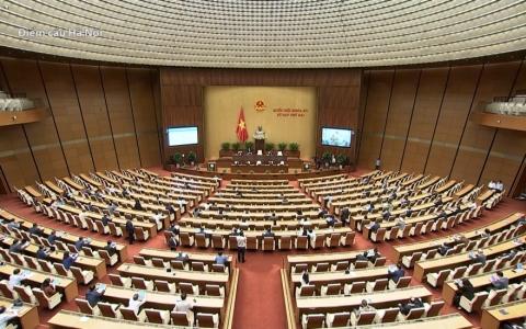Quốc hội thảo luận trực tuyến về dự án Luật Thi đua, khen thưởng sửa đổi
