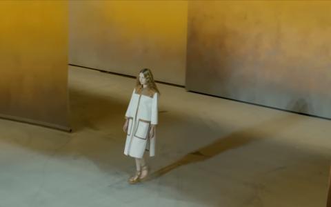 Show diễn ở sân bay của Hermès