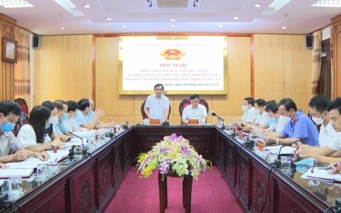 Thống nhất nội dung, chương trình kỳ họp giải quyết công việc phát sinh đột xuất HĐND tỉnh Thái Bình khóa XVII