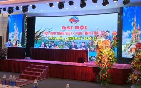 Đại hội lần thứ II Hội hữu nghị Việt – Nga tỉnh Thái Bình