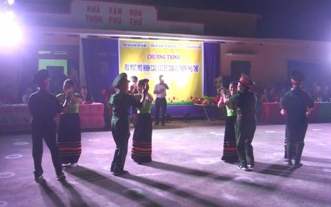 Ra mắt mô hình điểm Câu lạc bộ Dân vũ xã Vũ Hội, huyện Vũ Thư