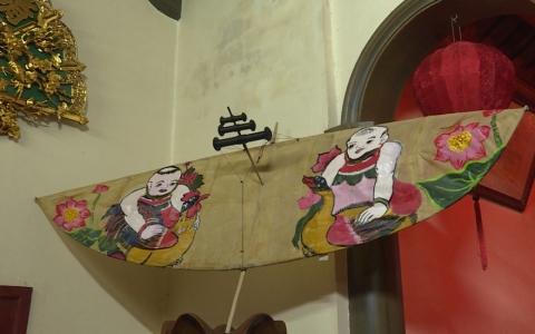 Tục chơi sáo diều trong lễ hội sáo đền- Song An được công nhận là di sản  văn hóa phi vật thể Quốc gia