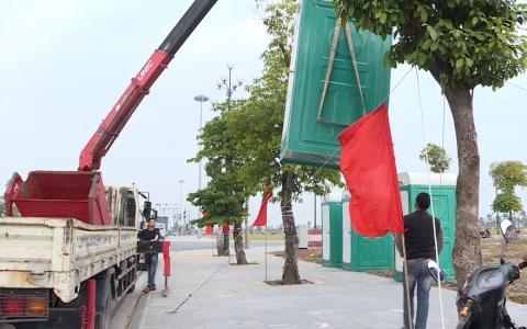 Thành phố chỉnh trang đô thị, vệ sinh môi trường phục vụ lễ khánh thành Tượng đài Bác Hồ với nông dân Việt Nam