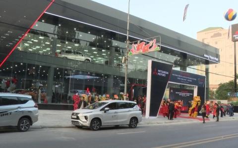 Khai trương Mitsubishi motors Hưng Thịnh Phát