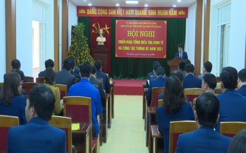 Tổng điều tra kinh tế năm 2021, tỉnh Thái Bình sẽ bắt đầu từ 1/3/2021