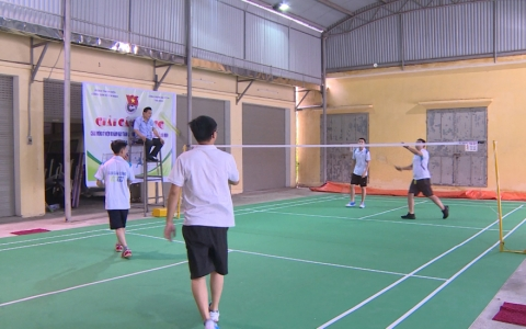 Giải cầu lông Đoàn Thanh niên cộng sản Hồ Chí Minh Đài PT&TH Thái Bình