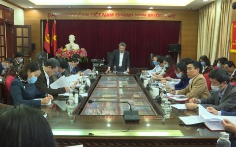 Họp Tiểu ban Thông tin tuyên truyền trong bầu cử đại biểu Quốc hội khóa XV và đại biểu HĐND các cấp nhiệm kỳ 2021 - 2026