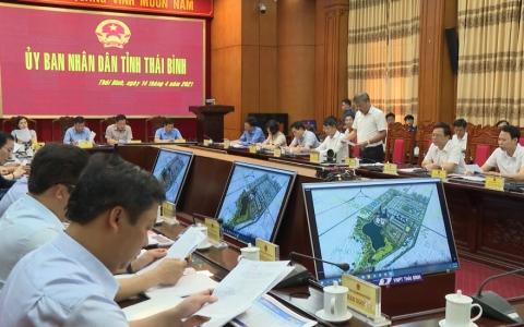 Chủ trương đầu tư đường vành đai phía Nam thành phố Thái Bình
