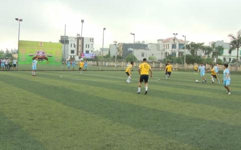 Giải bóng đá công nhân viên chức lao động các khu công nghiệp tỉnh lần thứ 6