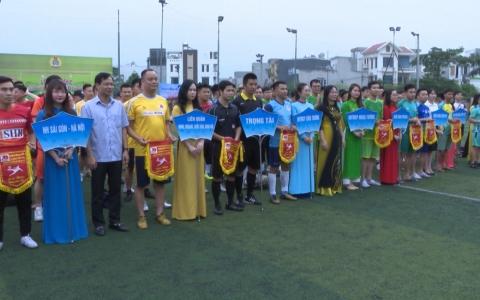 Giải bóng đá ngân hàng Thái Bình 2021