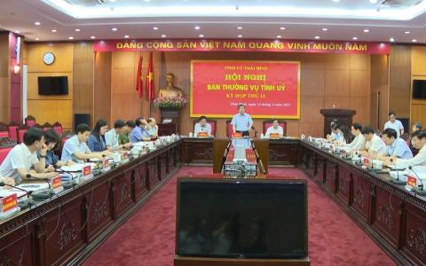 Hội nghị Ban Thường vụ Tỉnh ủy kỳ họp thứ 13