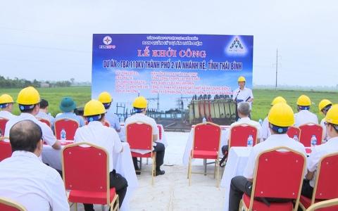 Khởi công trạm biến áp mới 110KV tại Thành phố Thái Bình