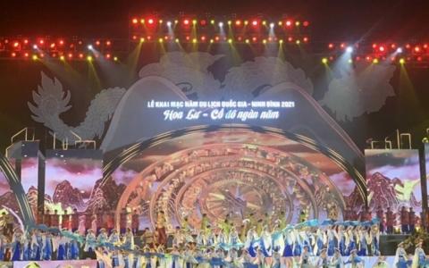 Lễ khai mạc Năm Du lịch quốc gia - Ninh Bình 2021
