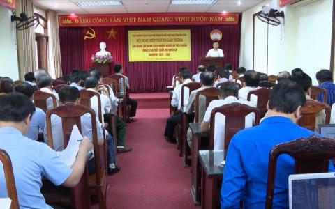 Lựa chọn, lập danh sách người ứng cử đại biểu Quốc hội khóa XV và HĐND tỉnh Thái Bình khóa XVII nhiệm kì 2021-2026