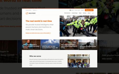 Reuters sẽ tính phí truy cập trang web