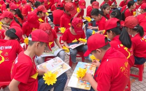 Tổ chức ngày hội đọc sách