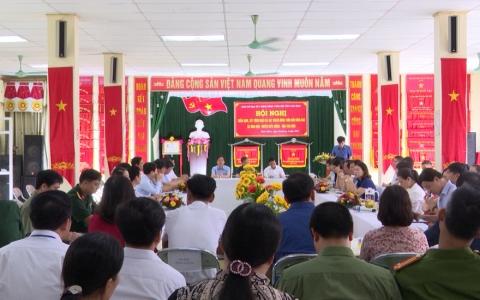 Xã Bình Định huyện Kiến Xương được công nhận hoàn thành 11/11 tiêu chí trong Nông thôn mới nâng cao