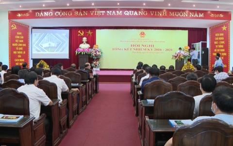 Đoàn đại biểu tỉnh Thái Bình tổng kết nhiệm kỳ 2016-2021