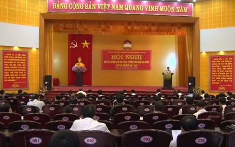 Huyện Hưng Hà gặp mặt người ứng cử đại biểu HĐND huyện, khóa XX, nhiệm kỳ 2021 - 2026