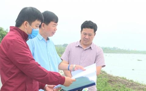 Thái Thụy khẩn trương hoàn thiện các công trình phòng chống lụt bão