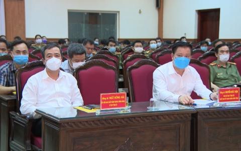 Công an tỉnh Thái Bình ra quân đảm bảo an ninh trật tự ngày bầu cử