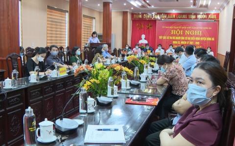 Hưng Hà tổ chức tiếp xúc cử tri bằng hình thức trực tuyến
