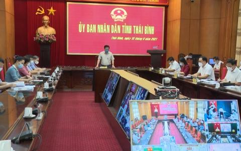 """Chủ tịch UBND tỉnh Thái Bình: """"Tuyệt đối không để mất dấu F0 ngoài cộng đồng"""""""