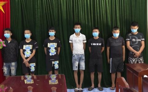 Công an thành phố Thái Bình: Bắt 7 đối tượng gây ra 7 vụ cướp liên tỉnh
