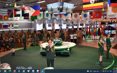 Đội đua tăng Việt Nam sắp đấu trận đầu tại Army Games