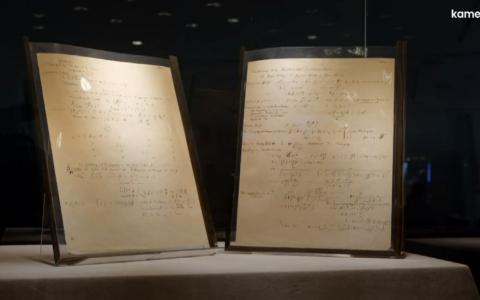 Đấu giá bản thảo viết tay giá trị nhất của Einstein