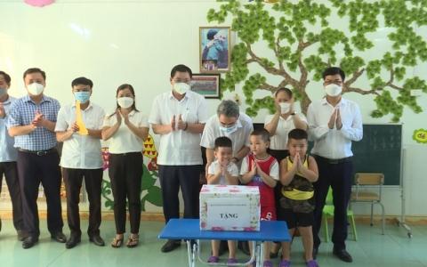 Kiểm tra năm học mới tại huyện Tiền Hải