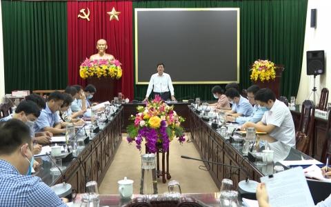 Kiểm tra việc lãnh đạo, chỉ đạo quản lý, sử dụng tài chính tại Đảng ủy Sở Tài chính