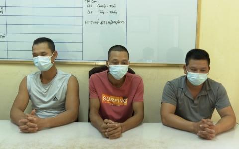 Phòng Cảnh sát môi trường Công an tỉnh Thái Bình: Phát hiện xử lý nhiều vụ khai thác cát trái phép