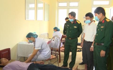 Thành phố Thái Bình: Triển khai công tác tuyển chọn gọi công dân nhập ngũ năm 2022