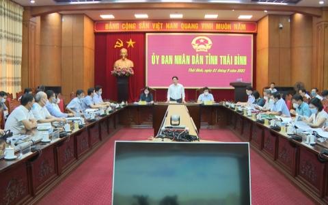 UBND tỉnh Thái Bình nghe báo cáo quy hoạch sân Golf Long Hưng