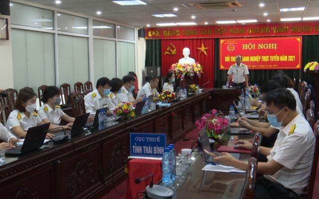 Chi cục thuế tỉnh Thái Bình đối thoại với doanh nghiệp