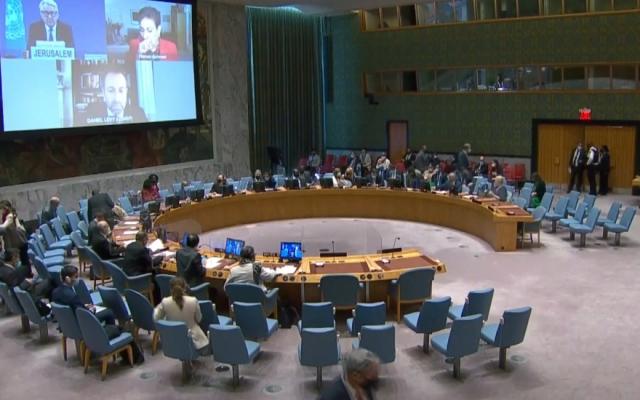 Hội đồng Bảo an Liên hợp quốc thảo luận về tình hình Trung Đông