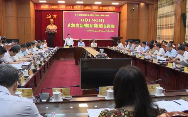 Công tác giải phóng mặt bằng trên địa bàn tỉnh Thái Bình