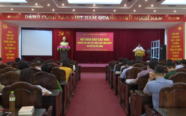 Nghiên cứu, học tập, quán triệt, tuyên truyền Nghị quyết Đại hội XIII của Đảng
