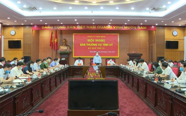 Thái Bình chỉ đạo quyết liệt các biện pháp phòng chống dịch Covid-19