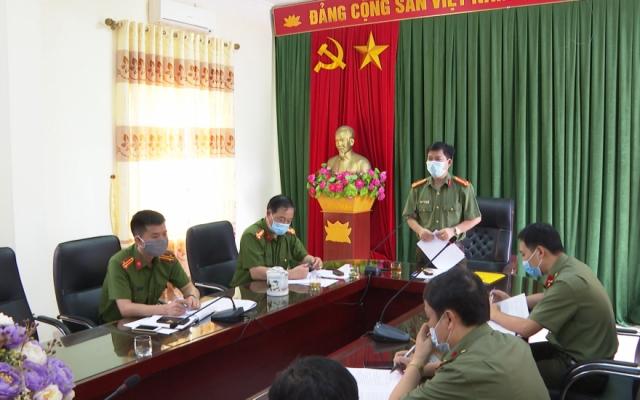 Giám đốc Công an tỉnh kiểm tra việc triển khai các nhiệm vụ quan trọng trên địa bàn huyện Quỳnh Phụ
