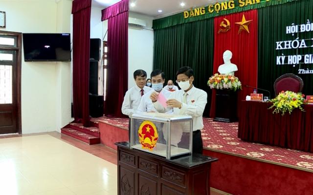 HĐND Thành phố Thái Bình họp giải quyết công việc phát sinh đột xuất