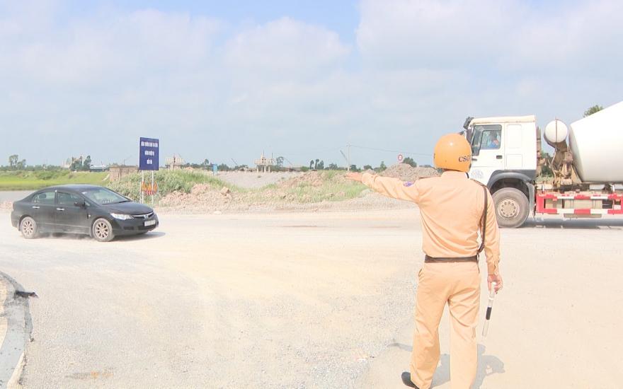 Đảm bảo giao thông tại những khu vực bị phong tỏa
